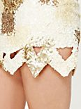 Cut Out Sequins Mini