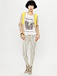 Force of Nature Striped Skinny