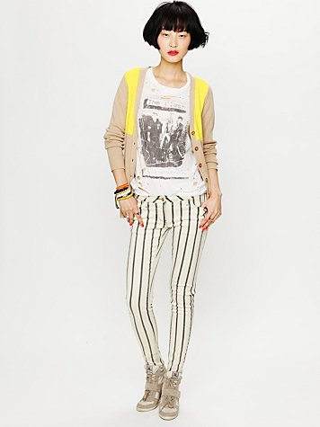 Sass & Bide Force of Nature Striped Skinny