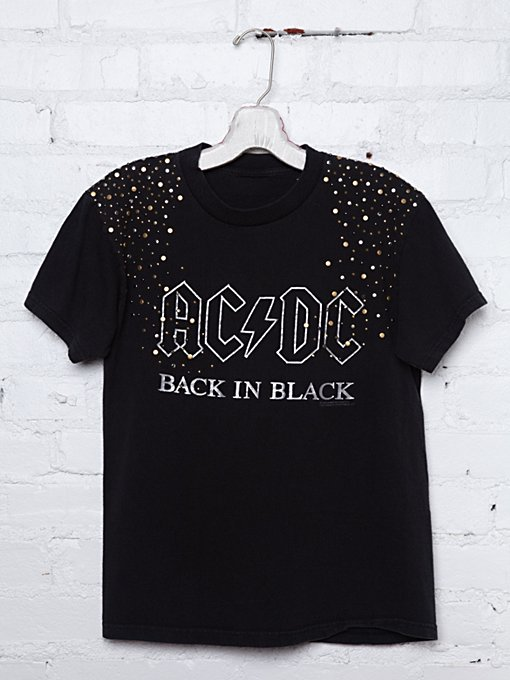Vintage Studded AC/DC Tee in catalog-nov-11-catalog-nov-11-catalog-items