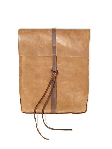 Saddle Leather iPad Case