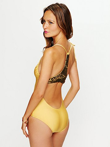 Empire Sequin One Piece