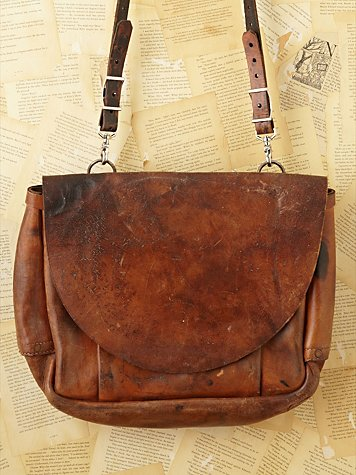 Free People Vintage Loves American Tradition Mail Bag