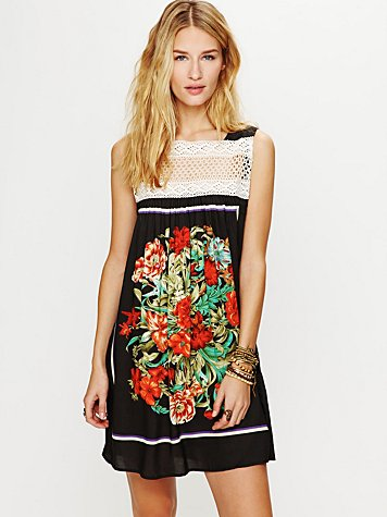 Free People Fiesta Mini Dress