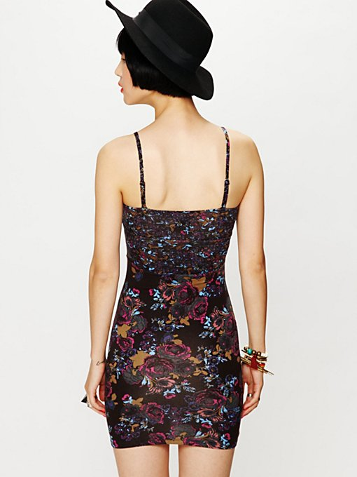 Mix Print Bodycon