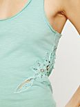 Lace Battenburg Inset Tank
