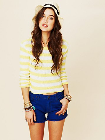 Beachy Stripe Pullover
