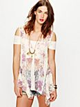 FP ONE Floral Lace Tunic