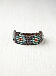 Narrow Beaded Friendship Bracelet