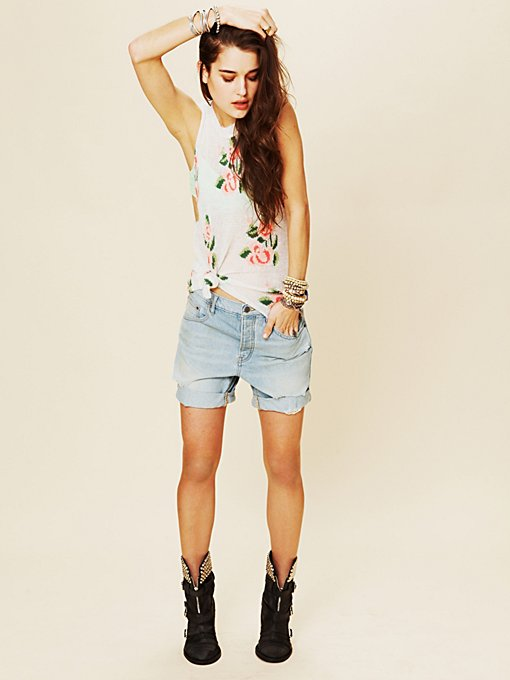 New Boyfriend Denim Short