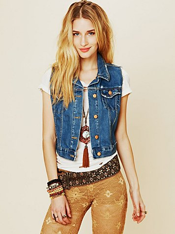 Washborn Denim Vest