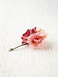 Triple Rose Bobby Pin