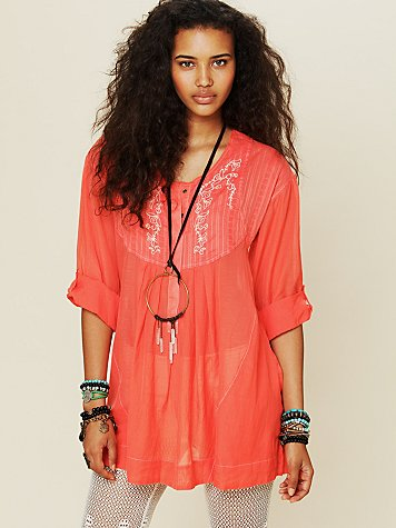 Free People Living Easy Tunic