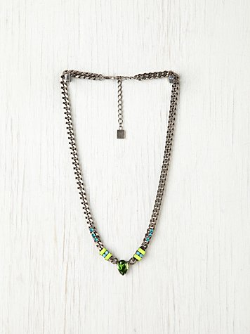 Dannijo Annabelle Neon Necklace