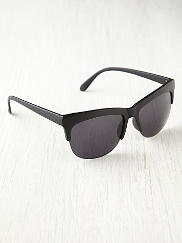 Plastic Brow Sunglasses