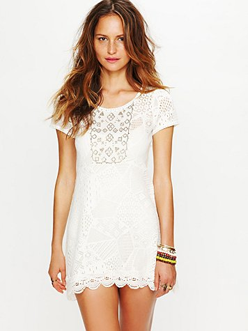 Free People Tribal Lace Tunic