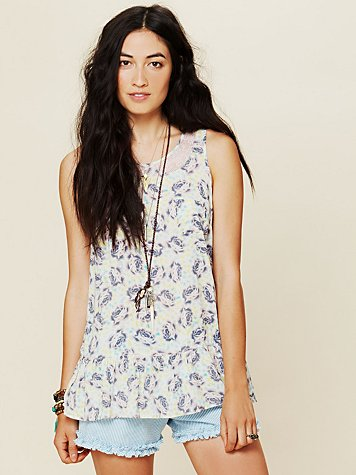 Free People Molly Printed Tunic