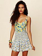 English Garden Mini Dress