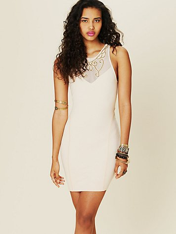 Free People Beaded Beauty Dress