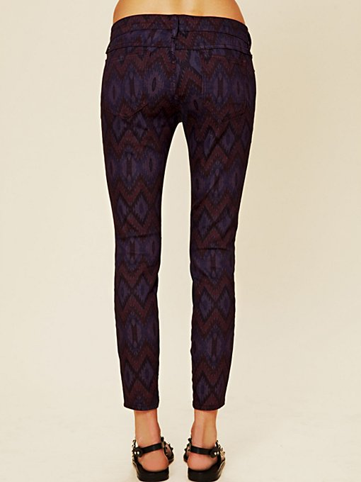 Tribal Print Ankle Crop