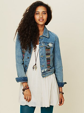 Free People Baja Denim Jacket