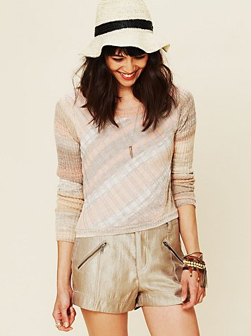 Free People Multi Color Pullover