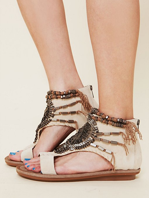 OTBT Desert Beaded Sandal in Sandals