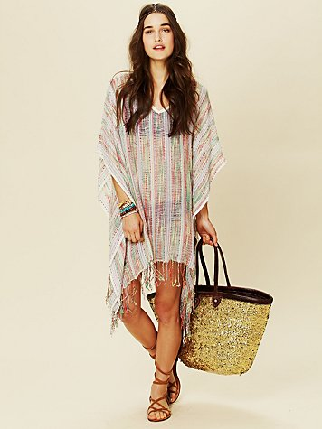 Free People Slub Beach Tunic
