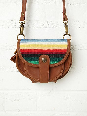 Free People Baja Blanket Crossbody