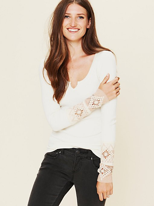 Free People Kombucha Cuff Thermal in layering-clothes