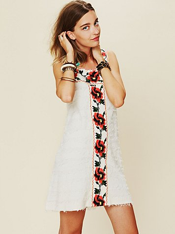 Free People FP New Romantics Jitterbug Shift Dress