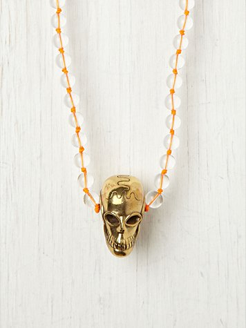 Push by Pushmataaha Argo Skull Pendant