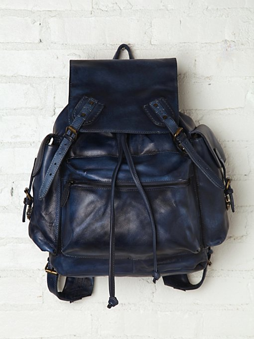 Moto Distressed Backpack in accessories-bags