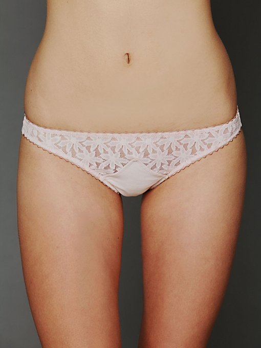 Lonely Triangle Insert Brief in lace-underwear