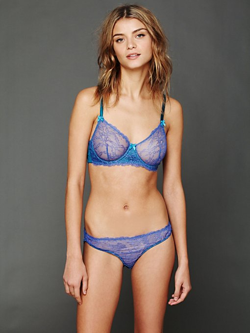 Mimi Holliday Azure Allure Knicker in underwear