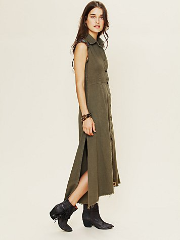 Jenna Leigh Army Dress
