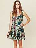 Printed Dropwaist Shapeless Dress