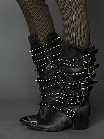 Jeffrey Campbell Kravitz Stud Boot