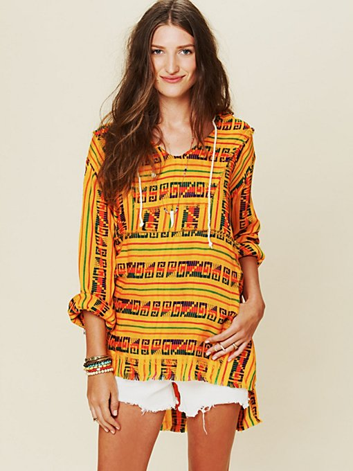 Patterned Poncho in sale-all-sale