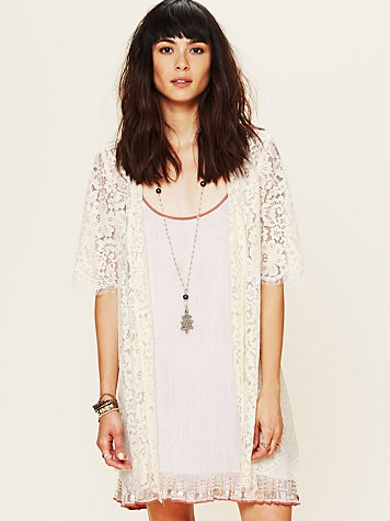 Zinke Harvard Lace Robe