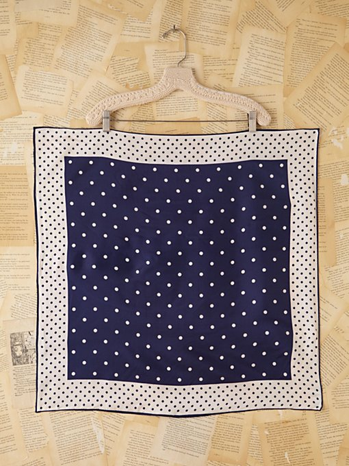 Vintage Dot Printed Scarf in vintage-loves-other