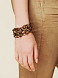 Heavy Chain Double Bracelet