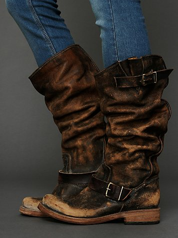 Freebird by Steven Contra Washed Tall Boot