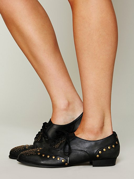 Jeffrey Campbell Capone Oxford in flats
