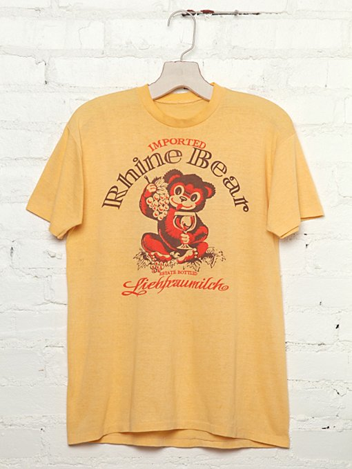 Vintage Rhine Bear Tee in Vintage-Loves-vintage-tees