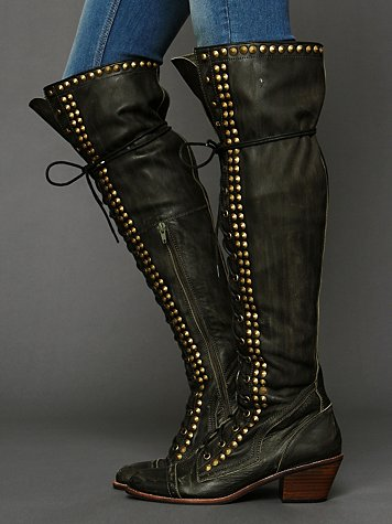 Jeffrey Campbell Studded Joe Tall Boot