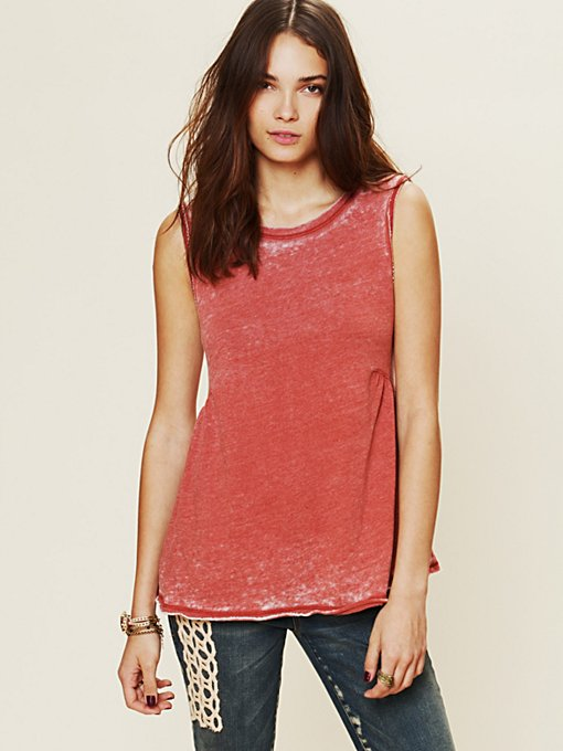 Free People Boyfriend Tank in Party-Tops