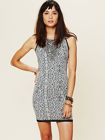 Free People Queen of the Nile Bodycon
