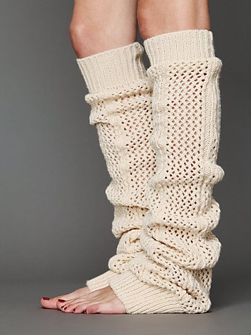 Thigh High Crochet Legwarmer