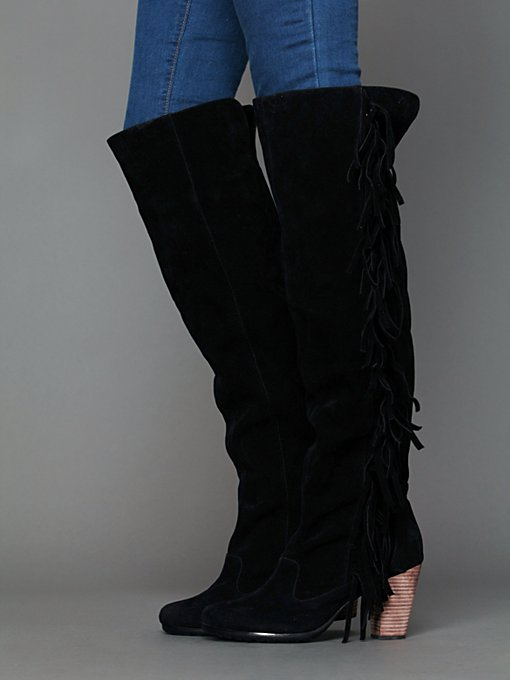 Cri de Coeur Olivia Tall Vegan Boot in Knee-High-Boots